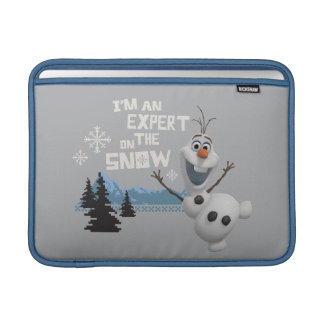 Olaf, soy un experto en la nieve funda macbook air