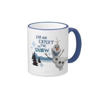 Olaf, soy un experto en la nieve tazas