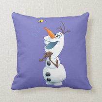 Olaf | Summer Dreams Throw Pillow
