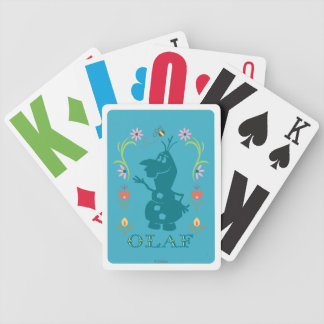 Olaf | Summer Fever Bicycle Playing Cards