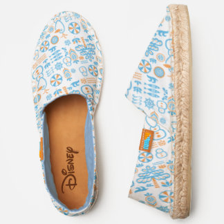 Olaf Summer Icon Pattern Espadrilles