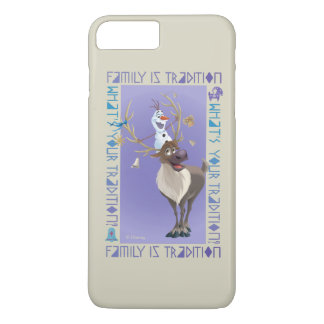 Olaf & Sven   Family is Tradition iPhone 8 Plus/7 Plus Case
