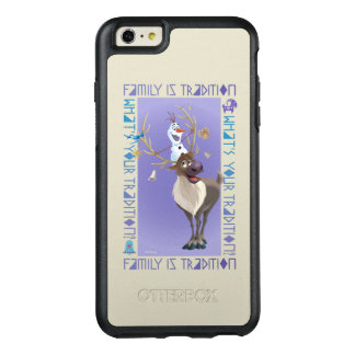 Olaf & Sven   Family is Tradition OtterBox iPhone 6/6s Plus Case