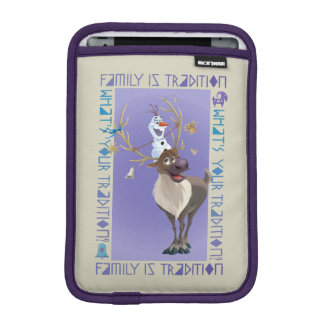 Olaf & Sven | Family is Tradition Sleeve For iPad Mini