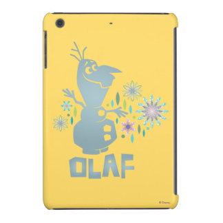 Olaf | Today Will be Perfect - Flowers iPad Mini Cover