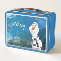 Olaf | Today Will be Perfect Metal Lunch Box