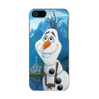 Olaf   Today Will be Perfect Metallic Phone Case For iPhone SE/5/5s