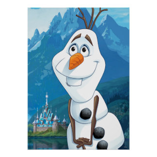 Olaf | Today Will be Perfect Poster