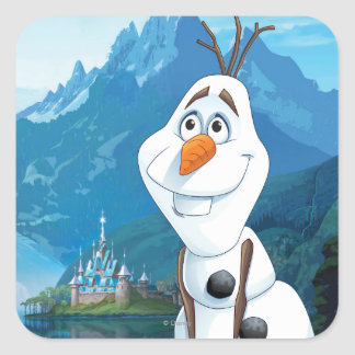 Olaf | Today Will be Perfect Square Sticker