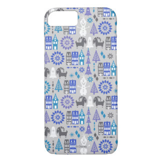Olaf   Warm Hugs All Around Pattern iPhone 8/7 Case