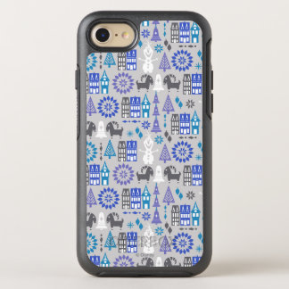 Olaf   Warm Hugs All Around Pattern OtterBox Symmetry iPhone 8/7 Case