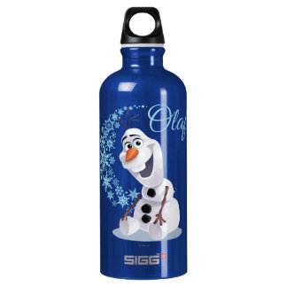 Olaf | Wave of Snowflakes Aluminum Water Bottle