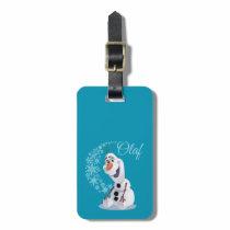Olaf | Wave of Snowflakes Bag Tag