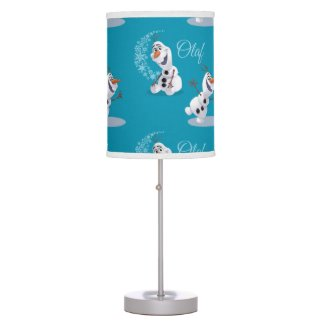 Olaf | Wave of Snowflakes Desk Lamp