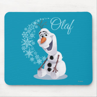 Olaf | Wave of Snowflakes Mouse Pad
