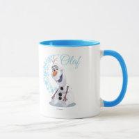 Olaf | Wave of Snowflakes Mug