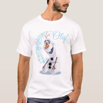 Olaf | Wave of Snowflakes T-Shirt