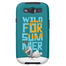 Olaf, Wild for Summer Galaxy SIII Cover at Zazzle