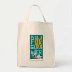 Olaf, Wild for Summer Grocery Tote Bag at Zazzle