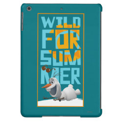 Case-Mate Barely There iPad Air Case with Frozen's Olaf Wild for Summer design
