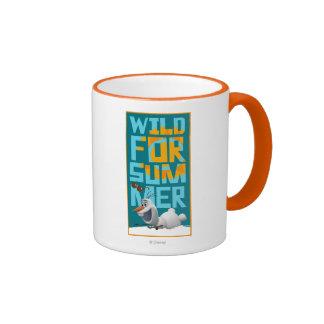 Olaf, Wild for Summer Ringer Coffee Mug
