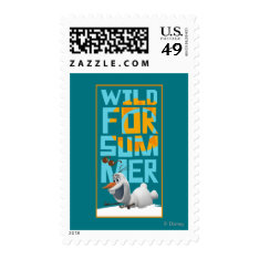 Olaf, Wild for Summer Postage at Zazzle