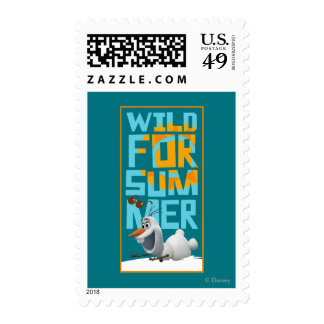 Olaf, Wild for Summer Postage