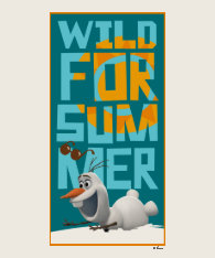 Olaf, Wild for Summer T Shirts at Zazzle