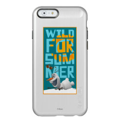 Incipio Feather® Shine iPhone 6 Case with Frozen's Olaf Wild for Summer design