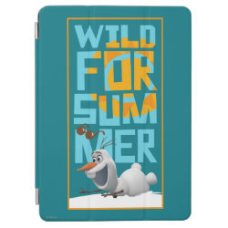 iPad Air Cover with Frozen's Olaf Wild for Summer design