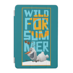 iPad mini Cover with Frozen's Olaf Wild for Summer design