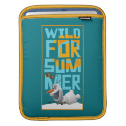 iPad Sleeve with Frozen's Olaf Wild for Summer design