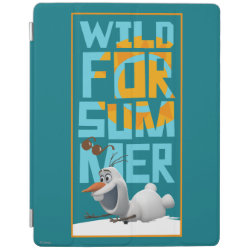 iPad 2/3/4 Cover with Frozen's Olaf Wild for Summer design