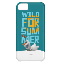 Case-Mate Barely There iPhone 5C Case with Frozen's Olaf Wild for Summer design