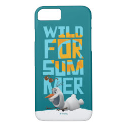 Case-Mate Barely There iPhone 7 Case with Frozen's Olaf Wild for Summer design