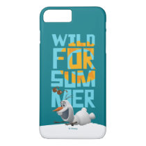 Olaf | Wild for Summer with Orange Circle iPhone 8 Plus/7 Plus Case
