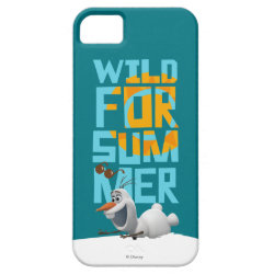 Case-Mate Vibe iPhone 5 Case with Frozen's Olaf Wild for Summer design