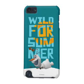 Olaf | Wild for Summer with Orange Circle iPod Touch (5th Generation) Cover