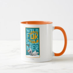 Combo Mug with Frozen's Olaf Wild for Summer design