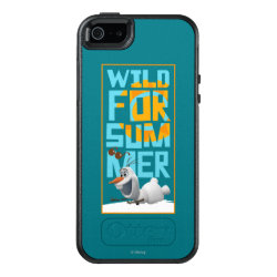 OtterBox Symmetry iPhone SE/5/5s Case with Frozen's Olaf Wild for Summer design
