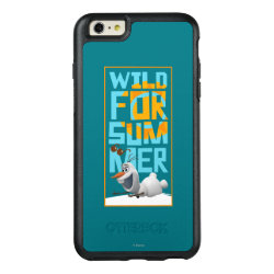 OtterBox Symmetry iPhone 6/6s Plus Case with Frozen's Olaf Wild for Summer design