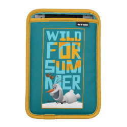 iPad Mini Sleeve with Frozen's Olaf Wild for Summer design