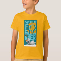 Olaf | Wild for Summer with Orange Circle T-Shirt