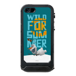 Incipio Feather Shine iPhone 5/5s Case with Frozen's Olaf Wild for Summer design