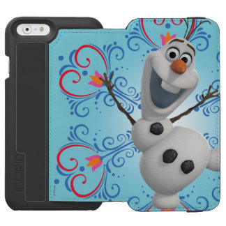 Olaf with Heart Frame Incipio Watson™ iPhone 6 Wallet Case