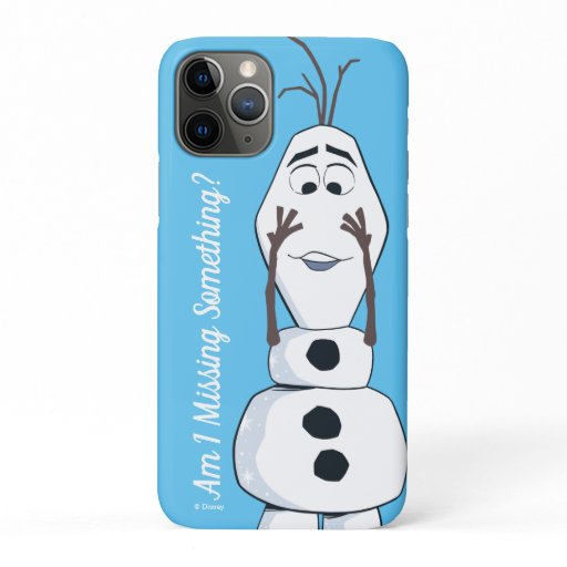 Olaf With No Nose iPhone 11 Pro Case