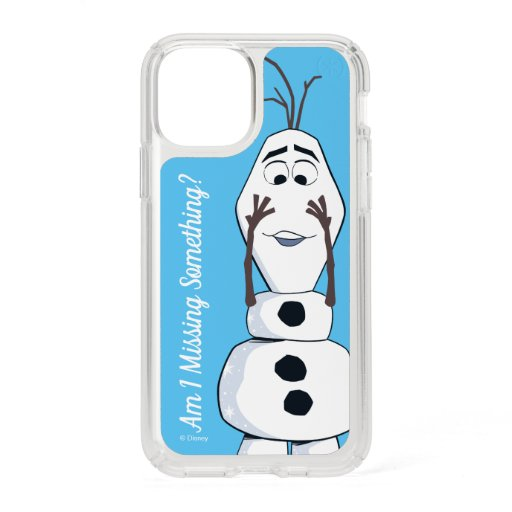 Olaf With No Nose Speck iPhone 11 Pro Case
