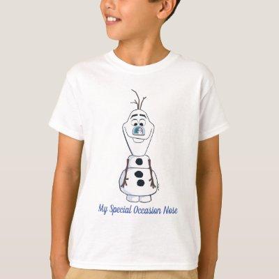Snowman T shirt Christmas Frozen Olaf Mens boys Tee Size S-2xl 2-15yrs
