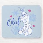 Olaf y copos de nieve