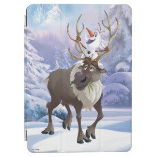 Olaf y Sven 2 Cubierta De iPad Air
